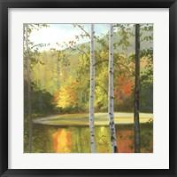 Cooper Lake, Autumn Fine-Art Print