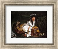Lady in a Boat Fine-Art Print