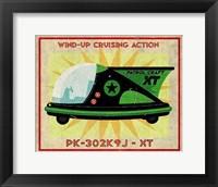 Patrol Craft XT Box Art Tin Toy Fine-Art Print