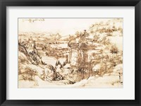 Arno Landscape, 5th August, 1473 Fine-Art Print