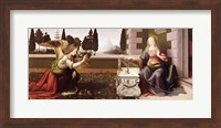 Annunciation, 1472-75 Fine-Art Print