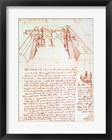 Pulley System for the Construction of a Staircase Fine-Art Print