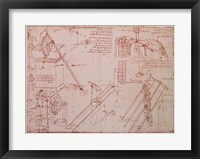 Studies of Hydraulic Devices Fine-Art Print