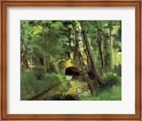 The Little Bridge, Pontoise, 1875 Fine-Art Print
