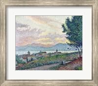 St. Tropez, Pinewood, 1896 Fine-Art Print