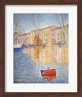 The Red Buoy, Saint Tropez, 1895 Fine-Art Print