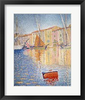 The Red Buoy, Saint Tropez, 1895 Fine-Art Print