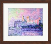 The Chateau des Papes, Avignon, 1900 Fine-Art Print