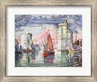 The Port at La Rochelle, 1921 Fine-Art Print