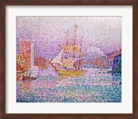 Harbour at Marseilles, c.1906 Fine-Art Print