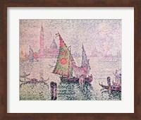 The Green Sail, Venice, 1904 Fine-Art Print
