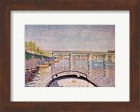 The Bridge at Asnieres, 1888 Fine-Art Print