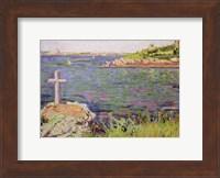 Saint-Briac, the Sailor's Cross, 1885 Fine-Art Print