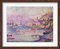 Leaving the Port of Saint-Tropez, 1902 Fine-Art Print