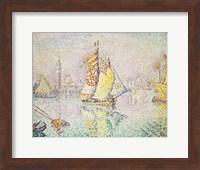 The Yellow Sail, Venice, 1904 Fine-Art Print
