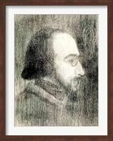 Erik Satie Fine-Art Print