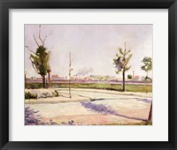 The Road to Gennevilliers, 1883 Fine-Art Print