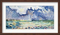 The Lighthouse at Gatteville Fine-Art Print