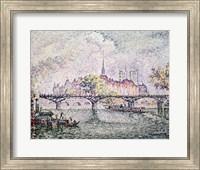 Ile de la Cite, Paris, 1912 Fine-Art Print