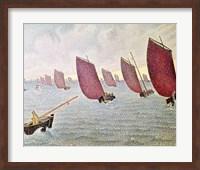 Breeze, Concarneau, 1891 Fine-Art Print