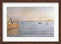 The Harbour at Portrieux, 1888 Fine-Art Print