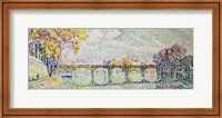 The Pont des Arts, 1928 Fine-Art Print