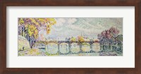 The Pont des Arts, 1928 Fine-Art Print