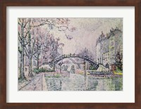 The Canal Saint-Martin, 1933 Fine-Art Print