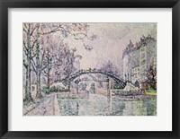 The Canal Saint-Martin, 1933 Fine-Art Print