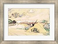 The Pile of Sand, Bercy, 1905 Fine-Art Print
