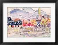 Le Paillon, Nice, 1921 Fine-Art Print