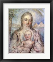 The Virgin and Child in Egypt, 1810 Fine-Art Print