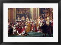 The Consecration of the Emperor Napoleon I Detail Fine-Art Print