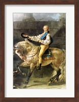 Equestrian Portrait of Stanislas Kostka Potocki Fine-Art Print