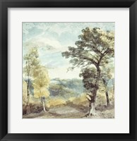 Landscape with Trees and a Distant Mansion Fine-Art Print