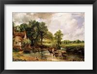 The Hay Wain, 1821 Fine-Art Print