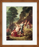 Orpheus and Eurydice, Spring from a series of the Four Seasons, 1862 Fine-Art Print