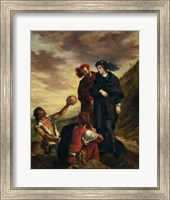 Hamlet and Horatio in the Cemetery, from Scene 1, Act V of 'Hamlet' Fine-Art Print