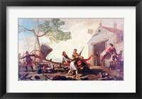 The Fight at the Venta Nueva, 1777 Fine-Art Print