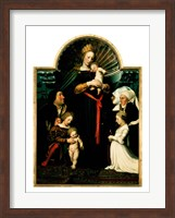 Madonna of the Burgermeister Meyer Fine-Art Print