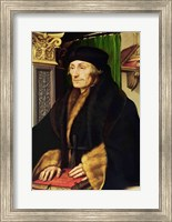 Portrait of Erasmus, 1523 Fine-Art Print