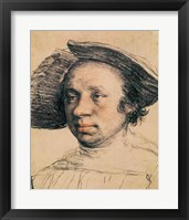 Portrait of a Youth in a Broad-brimmed Hat Fine-Art Print