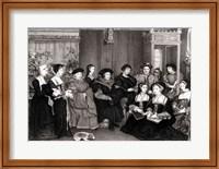 The Family of Thomas More Fine-Art Print