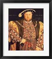 Portrait of Henry VIII A Fine-Art Print