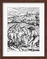 Death and the Ploughman Fine-Art Print