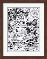Death and the Knight Fine-Art Print