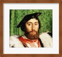 The Ambassadors, 1533, Portrait Detail Fine-Art Print