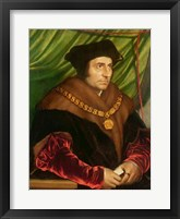 Portrait of Sir Thomas More Fine-Art Print