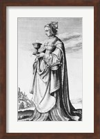 St. Barbara Fine-Art Print