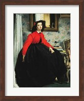 Young Lady in a Red Jacket Fine-Art Print